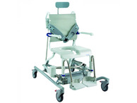 Aquatec Ocean e-VIP Battery operated shower chair commode