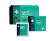 10 Packs of 10 Reliwipe Wound Cleansing Wipes