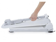 Aquatec Orca XL with Reclining Backrest with White covers Covers