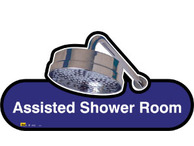 Assisted Shower Room Sign