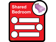 Bedroom 3 Signage Shared By Three