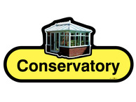 Conservatory Sign