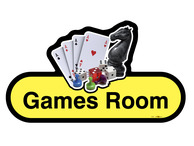 Games Room Sign
