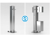 Zidac Maxi Foot Operating 5L Dispenser