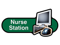 Nurse Station Sign