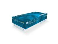 PRO.TECT Blue Nitrile Gloves: (box of 100) Large