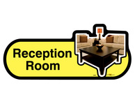 Reception Room Sign