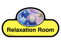 Relaxation Room Sign