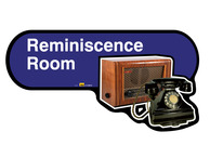 Reminiscence Room Sign