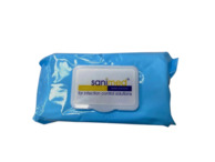 Sanimed 70% Alcohol Wipes (Pack 100)