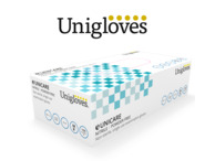 Blue Nitrile Gloves, Case of 1000 (10 x Boxes of 100)