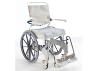Aquatec Ocean Ergo Self Propel Shower Chair and Commode (150kg)