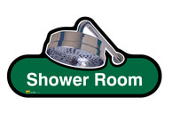 Shower Room Sign