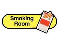 Smoking Room Sign